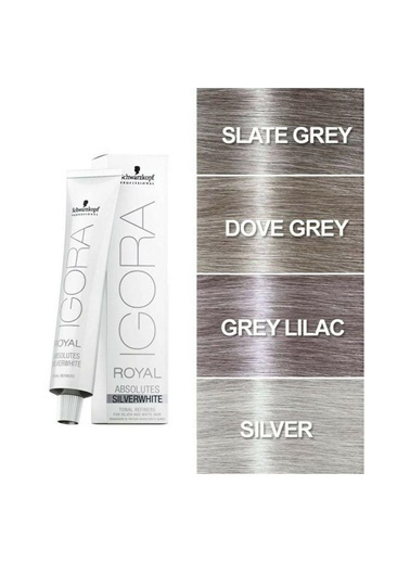 Schwarzkopf Schwarzkopf Slate Grey Silver White 60 Ml Renkli